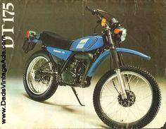 1978 Yamaha DT175 Brochure – Motocross suspension and street machine performance