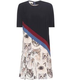 mytheresa.com - Seidenkleid mit Print - Stella McCartney - Designer - Luxury Fashion for Women / Designer clothing, shoes, bags