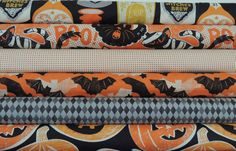 Fat Quarter Bundle Spooktacular Blend Fabric by MaddysFabricStash, $13.50