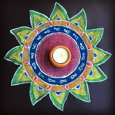 "5 Likes, 1 Comments - Anu (@twist_to_taste) on Instagram: ""Substitute for Kolam #krishnajeyanthi #kolam"""