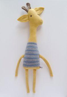 Plush Giraffe Friend Finkelstein's Center Handmade by finkelsteins, $46.00