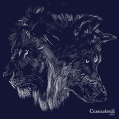 Camiseta 'The Wolf is King' - Catalogo Camiseteria.com