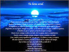 MIS HUMILDES OPINIONES: TU LUNA AZUL