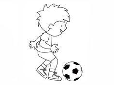 ausmalbilder kostenlos fußball spieler – Ausmalbilder für kinder