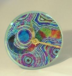 Recycled CD Art - Home