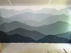Post with 240 votes and 205558 views. Tagged with diy, painting, murals, mountains, wall mural; Mountain Mural How-To.