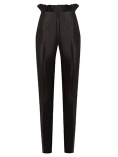 Margarete slim-leg silk and wool-blend trousers | Gabriela Hearst