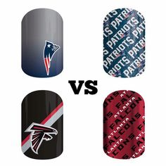 Get them now so you have them for the big game! http://bluejena.jamberry.com #newenglandpatriots #patriots #patriotsnation #nflcollectionbyjamberry #jamberry #manicure #atlantafalcons #superbowl #superbowl51 #superbowlli #puppybowl #football