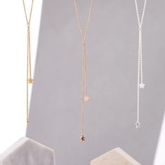 Double Shooting Star Necklace | hardtofind.