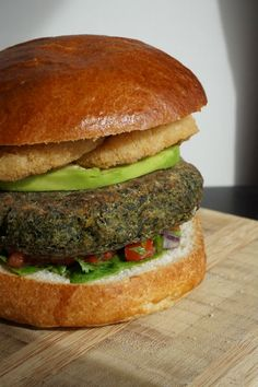 Mexican Veggie Burger Recipe #frifree4all
