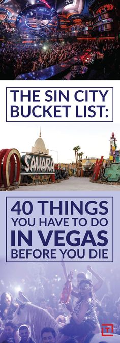 The 40 Essential Things To Do In Las Vegas Before You Die - Vegas Bucket List - Thrillist Nevada, United States, North America Usa Roadtrip, Travel Usa, Las Vegas Vacation, Visit Las Vegas, Travel Vegas, Vegas Fun, Las Vegas Living, Vegas Getaway, Ways To Travel