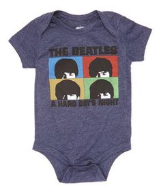 Another great find on #zulily! 'Hard Day's Night' Bodysuit - Infant by The Beatles #zulilyfinds
