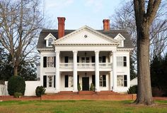 Evans Russell House ~ 1901 ~ Neo-Classical Revival house built for Governor John Gary Evans. Later it was the home of Donald S. Russell, a Senator and S.C. Governor.