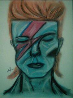 David Bowie #Bowie Aladdin Sane