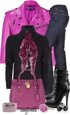 """Leather Jacket Contest"" by amybwebb on Polyvore"