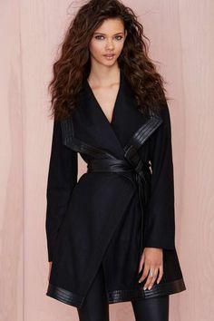 Nasty Gal Isadora Coat | Shop Jackets + Coats at Nasty Gal