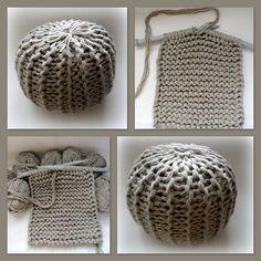 Puf neboli podsedák – Háčkování hraček & návody Crochet Motifs, Knit Crochet, Crochet Patterns, Crochet Hats, Crochet Cushion Cover, Crochet Cushions, Knitted Blankets, Knitted Hats, Geek Stuff