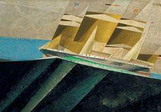 Lyonel Feininger, Mid-Ocean, 1937