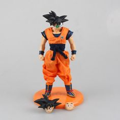 Anime-Dragon-Ball-Z-Super-Saiyan-PVC-Action-Figure-Son-Goku-Toy-18CM