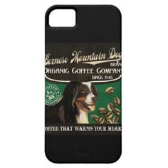 Bernese Mountain Dog Brand – Organic Coffee Compan iPhone 5 Cases