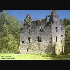 current state of sorbie tower in scotland