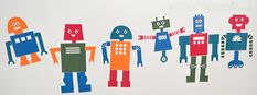 Robots; gratis printable