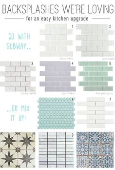 How To Install A Subway Tile Kitchen Backsplash  sc 1 st  Pinterest & 12 Peel u0026 Stick Wallpapers That Donu0027t Look Like Wallpaper At All ...