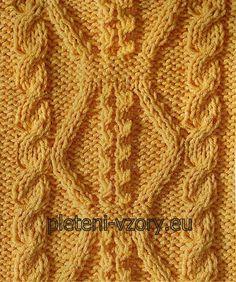 Vzor č. 121 – Kaleidoskop vzorů pro ruční pletení 28bd81c305