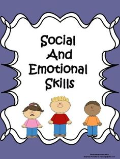 Social and Emotional Skills Activity Pack