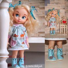 Doll clothes for Disney animator by FairyTaleLOVEit on Etsy Disney Animator Doll, Disney Dolls, Newberry Dolls, Disney Animators Collection Dolls, Cinderella Doll, Toddler Dolls, Bjd Dolls, Girl Dolls, Bitty Baby