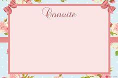 Convite Floral                                                       …