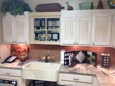 Having the right the right sink and countertop to go with the cabinetry is crucial!