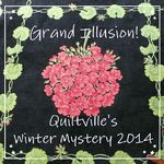 Bonnie Hunter's latest mystery quilt.  First clue was released today November 28.