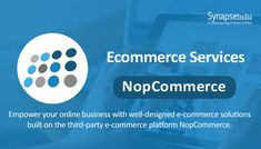 SynapseIndia is a leading nopCommerce development company in India offers nopCommerce design, module development, customization and more. Ecommerce Solutions, Peace Of Mind, Platforms, Online Business, Software, Watch, Youtube, Clock, Bracelet Watch