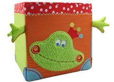 boîte de rangement grenouille