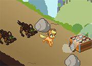 My little Pony Applejack in Zapple Hill
