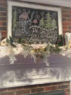When Christmas is over. I can& go cold turkey on all the trees and lights. The snowman tree in the family room st. Chalkboard Drawings, Chalkboard Lettering, Chalkboard Paint, Chalkboard Writing, Chalkboard Ideas, Chalkboard Signs, Christmas Is Over, 1st Christmas, Christmas Goodies