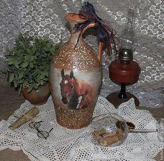 Купить Кувшин для вина. - рыжий, Керамика, глиняный кувшин, посуда из керамики, лошадь, уютная кухня