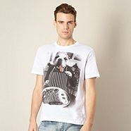 Monochrome Mens T-Shirt - Available at Debenhams! #Fashion #Clothes #Style #BlackAndWhite