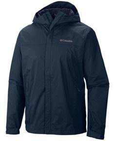 New Mens Columbia Watertight II Packable Omni-Tech Rain Wind Jacket Black Rain Jacket, Wind Jacket, Packable Rain Jacket, Raincoats For Women, Columbia Sportswear, Rain Wear, Big & Tall, Jackets Online, Hooded Jacket
