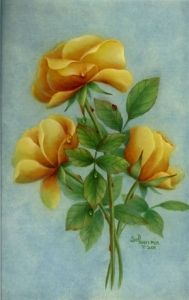 Art Apprentice Online - Acrylic Painting Lesson - Learn How to Paint Yellow Roses - Sue Pruett, MDA, $9.95 (http://store.artapprenticeonline.com/acrylic-painting-lesson-how-to-paint-yellow-roses-sue-pruett-mda/)