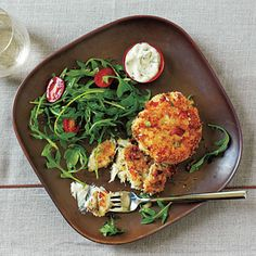 Crab Cakes with Spicy Mustard