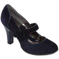 Eurosoft™ Benita High-Heel Mary Janes - jcpenney