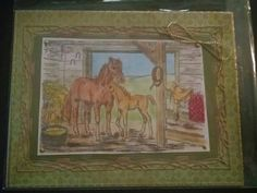 Horses ..gave to Cindy