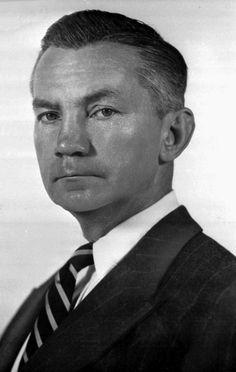 James Forrestal (Sept. 1947 - March 1949)  James V. Forrestal, Secretary of Defense under President Harry Truman, is shown on July 26, 1947. (Source: Department of Defense)