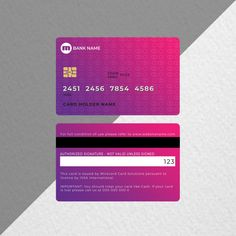 Business Credit Cards, Unique Business Cards, Professional Business Cards, Identity Card Design, Brand Identity, Debit Card Design, Mobile Credit Card, Visiting Card Templates, Credit Card Hacks