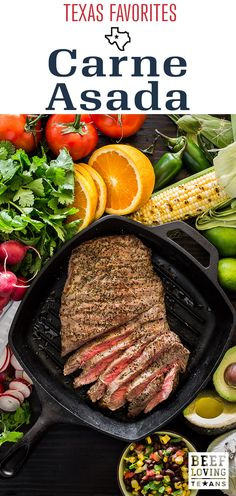 It's time to dust off the grill! Give our fresh Carne Asada recipe a try this spring.