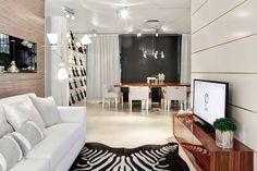 white / wood - living room - Catarina Batista arquitectura   interiores