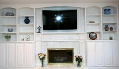 Master Bedroom Fireplace Wall