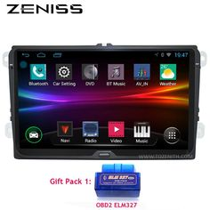 #AliExpress FREE SHIPPING Android 9 inch B6 B5 B7 Passat Car GPS Navigation without DVD For VW Golf GPS For VW Polo Car Stereo Radio GPS 67S (32723509593) #SuperDeals #AceGolfEquipment